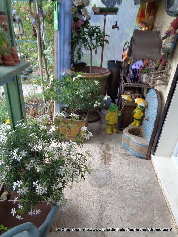 Mon jardin Le Clos fleuri en avril ......