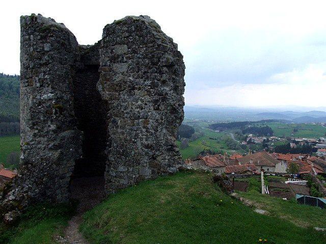 Diaporama château d'Allègre