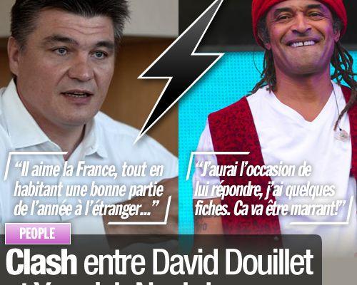 Clash entre David Douillet et Yannick Noah !