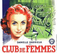 Les inconnus dans la maison - Club de femmes