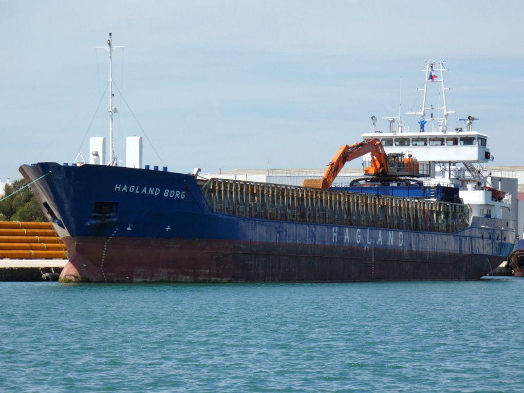HAGLAND BORG , a quai à la Seyne sur Mer le 15 mai 2019