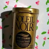 Soleil Noir, Soins Vitaminé, Bronzage Intense - Une Merveilleuse Blonde