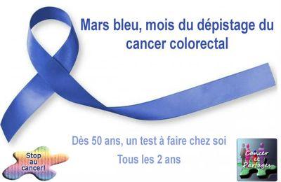 Mars bleu dépistage du cancer colorectal