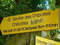 Pancartes, indications, chicanes...des repères indispensables !