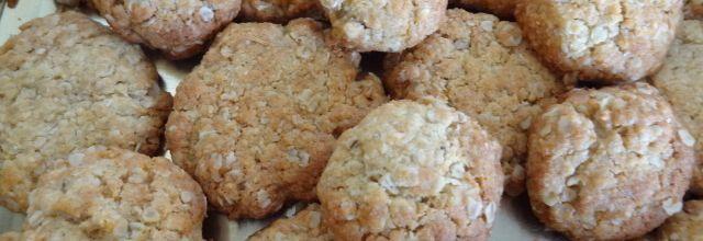 Goûter australien : Anzac cookies et Cinnamon blunt cake