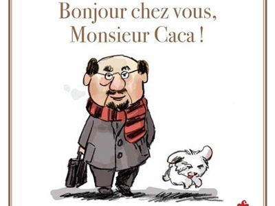 Bonjour chez vous, Monsieur Caca / Antonin Louchard - Saltimbanque