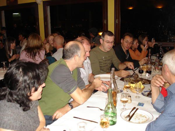 """Restaurant""""Le Bella vista"""" le 25 octobre 2008.26 participants"""