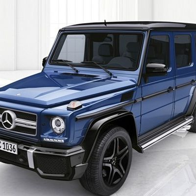 Mercedes-Benz G-Class launched new customized services add individual elements