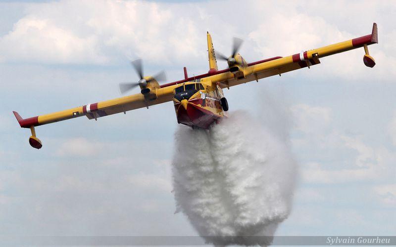 La Sécurité Civile déploie deux Canadair CL-415 et un Super King Air en Israël pour lutter contre les feux