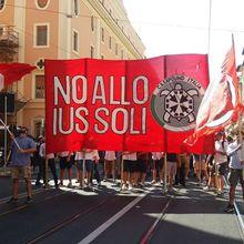 « NO ALLO IUS SOLI ! » : 5 000 PERSONNES DANS LA RUE À ROME, LE 24 JUIN, À L'APPEL DE CASAPOUND