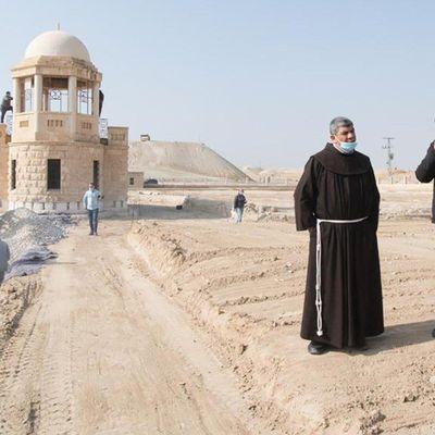 Terre Sainte: première messe sur le site du baptême du Christ.