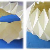 //DIYourself// Une lampe Origami - Paperblog
