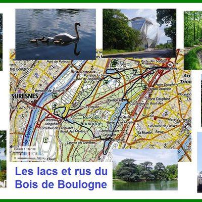 Une randonnée autour des lacs et rus du Bois de Boulogne