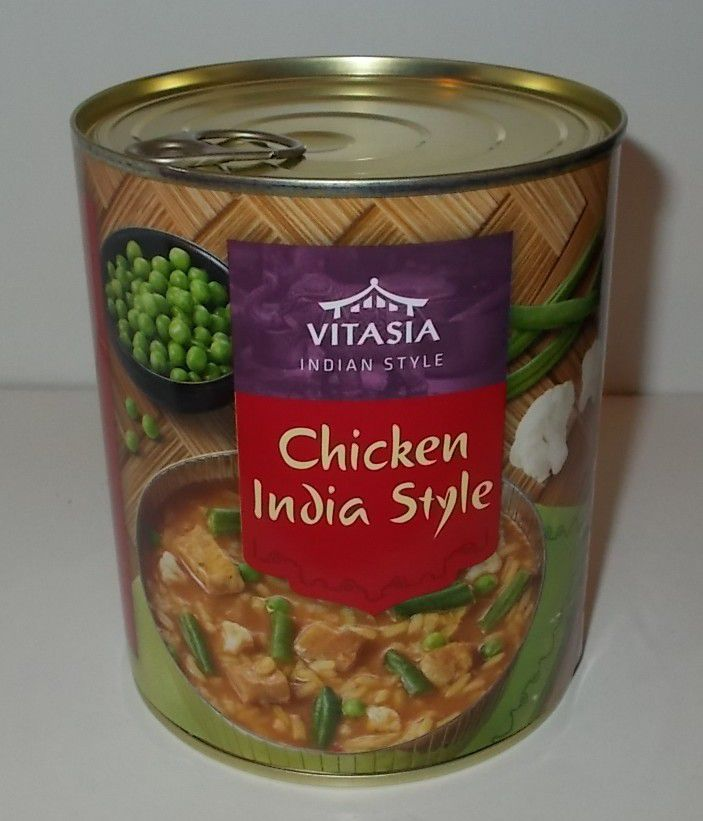 Lidl Vitasia Chicken India Style Indian Style