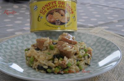 Risotto au Saint Jacques confites