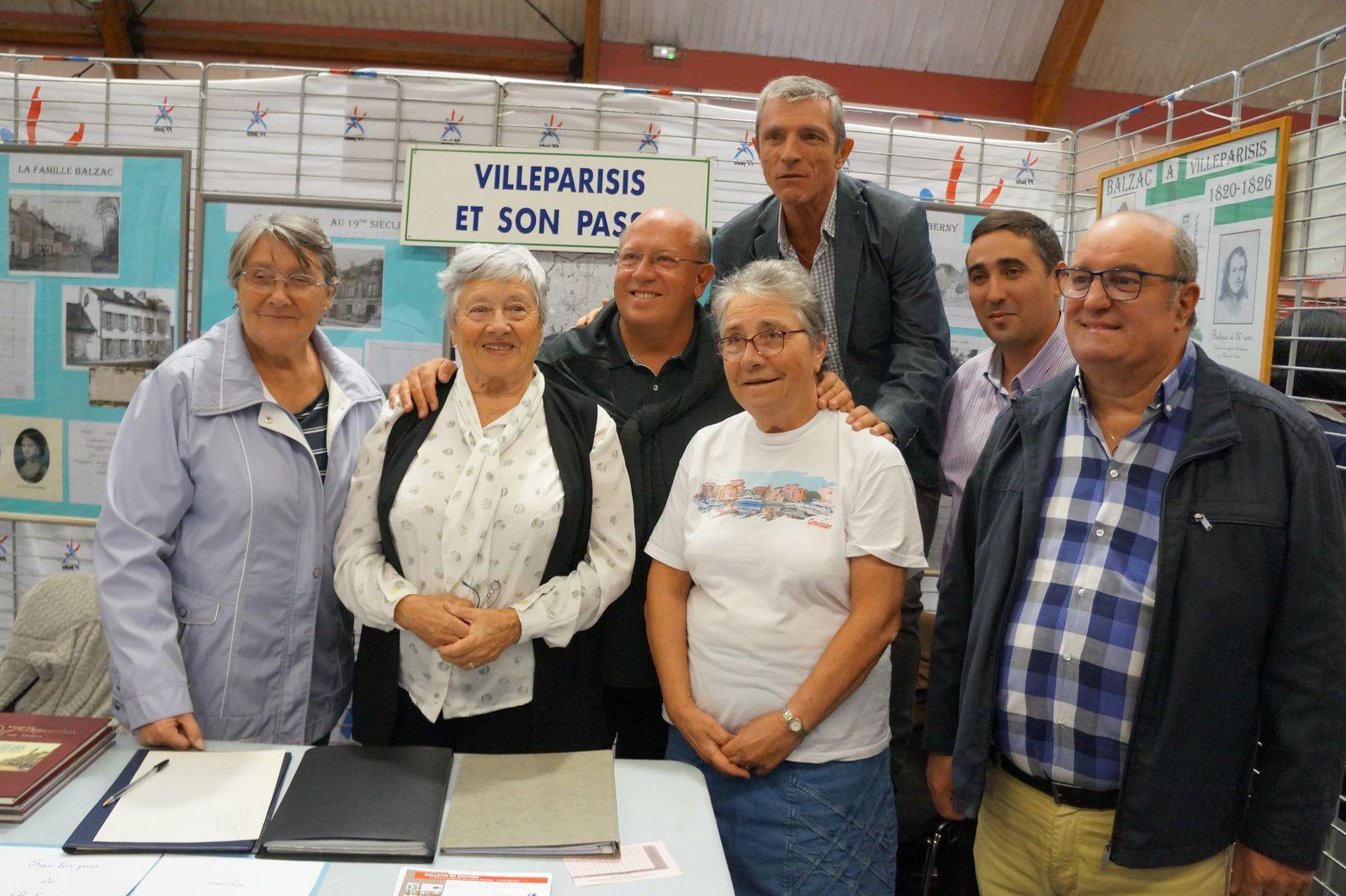 """Activités de la Société d'histoire """"Villeparisis et son passé"""" 35 ème anniversaire"""