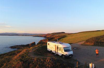 première visite de la Bretagne en camping car 2018