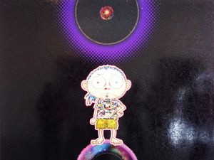 Enso : at our side, bending space-time / Enso : Black hole - © Takashi Murakami