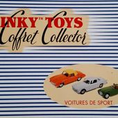 COFFRET COLLECTOR VOITURES DE SPORT DINKY TOYS REEDITION ATLAS 1/43 - car-collector.net