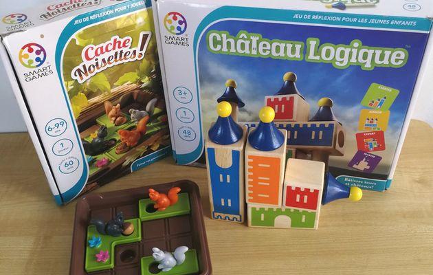 Châteaux et écureuils, Jeux de réflexion pour petits et grands
