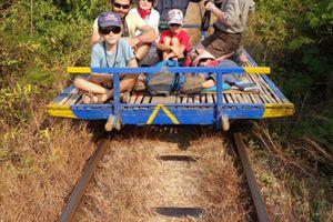 Bamboo train et les vignes