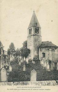 Eglise de Saint-Maurice-les-Châteauneuf.