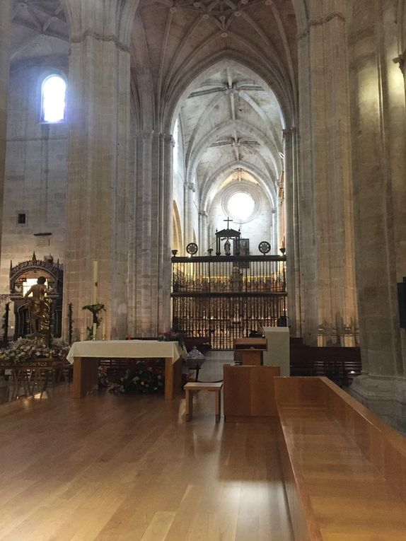 COMPOSTELLE 2018: JOUR 8 :  NAJERA-GRANON (28 kms)