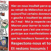 Nous ne sommes pas aux ordres ! RESPECTEZ les abstentionnistes militants ! - Commun COMMUNE [le blog d'El Diablo]