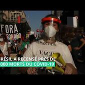 Les Brésiliens redescendent dans la rue pour demander la destitution de Bolsonaro
