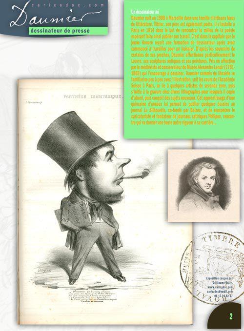 """""""Honoré Daumier, dessinateur de presse"""" : exposition itinérante à louer / imprimer"""