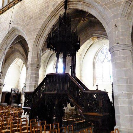 Eglise Notre-Dame de Vitré, Bretagne en camping-car
