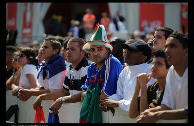 Mondial 2010 : l'élimination des Bleus vue du Trocadéro