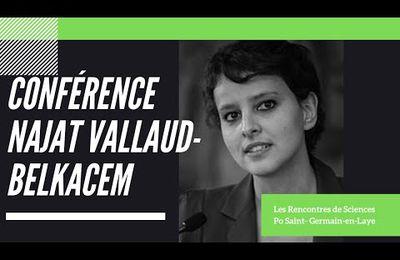 """Egalité des """"chances""""... Mixité sociale... Education... Femmes... Najat Vallaud-Belkacem (Vidéo)"""