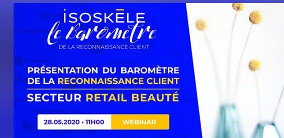 Marketing Event : Baromètre de la reconnaissance client le 28 mai 2020