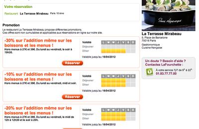 La Terrasse Mirabeau sur Lafourchette.com
