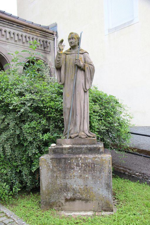 Sortie dans le Haut-Rhin sur la Route Romane 6.Reiningue,Bruebach, Obermorschwihr, Chapelle Saint-Brice