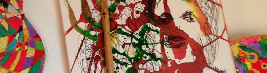 Abstrait - Rebelle - Paris - Elle - Avance - Art - Peinture