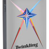 Twinkling Text Portable Battery Charger for Sale by Michael Bellon