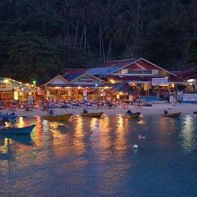 Pulau Kecil : Coral Bay