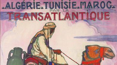 Affiche d'après la peinture de la Calaisienne