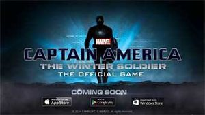 Jeux video: Captain America : Le Soldat de l'Hiver - Le Jeu Officiel sur iphone !