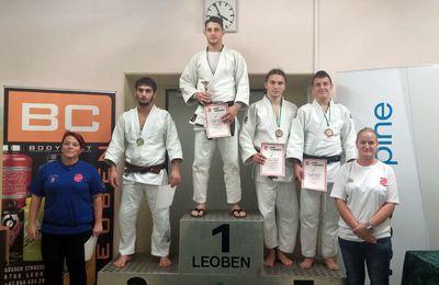 Judoka Gabriel Lukanovic gewinnt dreimal Edelmetall