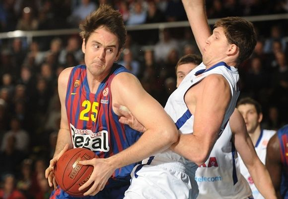 Barcelone chute contre le CSKA à Palau Blograna