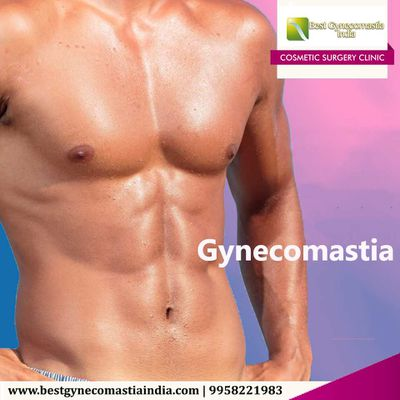 Suffering from Male Breasts? Gynecomastia Surgery is your Savior!