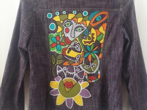 Peinture sur textile by Koraloca.