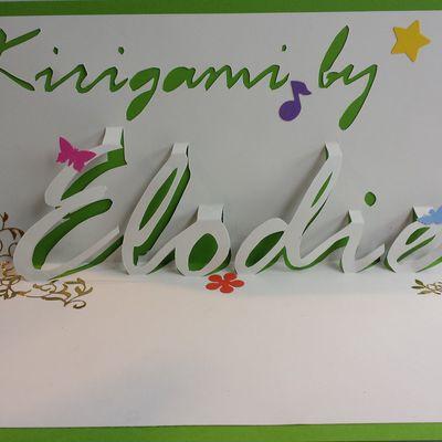 Kirigami by Elodie