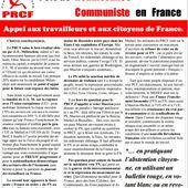 ABSTENTION CITOYENNE : Appel des communistes du PRCF pour le second tour de la présidentielle 2017 - Commun COMMUNE [le blog d'El Diablo]