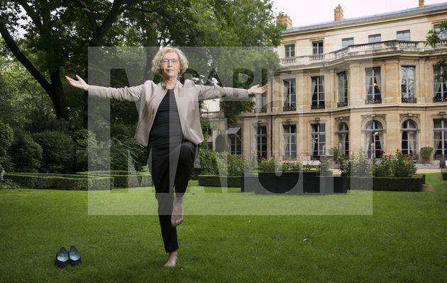 La ministre du travail Muriel Pénicaud réagit à la photo de Paris Match