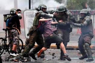 Répression au Chili (à quand des sanctions de l'UE?)