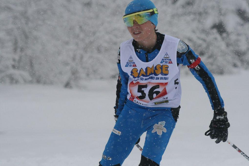 Championnat de France Minimes  2015 - La Seigne- Jour 1 Biathlon